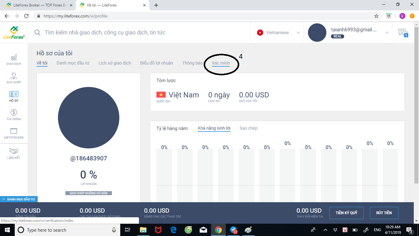 Mở tài khoản Forex như thế nào? Và nạp tiền ra sao?