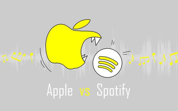 """Liên minh châu Âu bắt đầu điều tra vụ Apple chèn ép Spotify, """"Táo khuyết"""" có thể nhận án phạt 26,6 tỷ USD"""