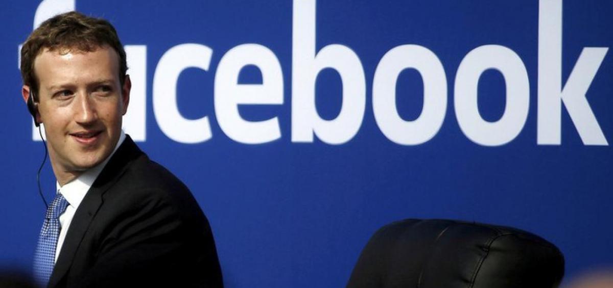 Nhà sáng lập kiêm Tổng giám đốc (CEO) mạng xã hội Facebook - Ảnh: Reuters.