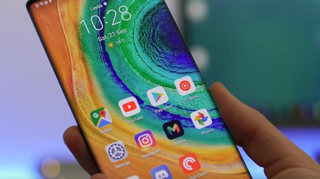 Không có giấy phép sử dụng của Google, những điện thoại mới của Huawei như Mate 30 Pro chỉ có thể dùng những cách không chính thức để cài dịch cụ Google. Ảnh: 9to5Google.