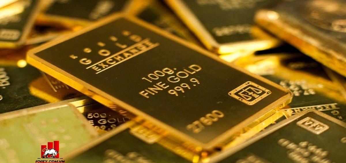 Giá Vàng đang tăng