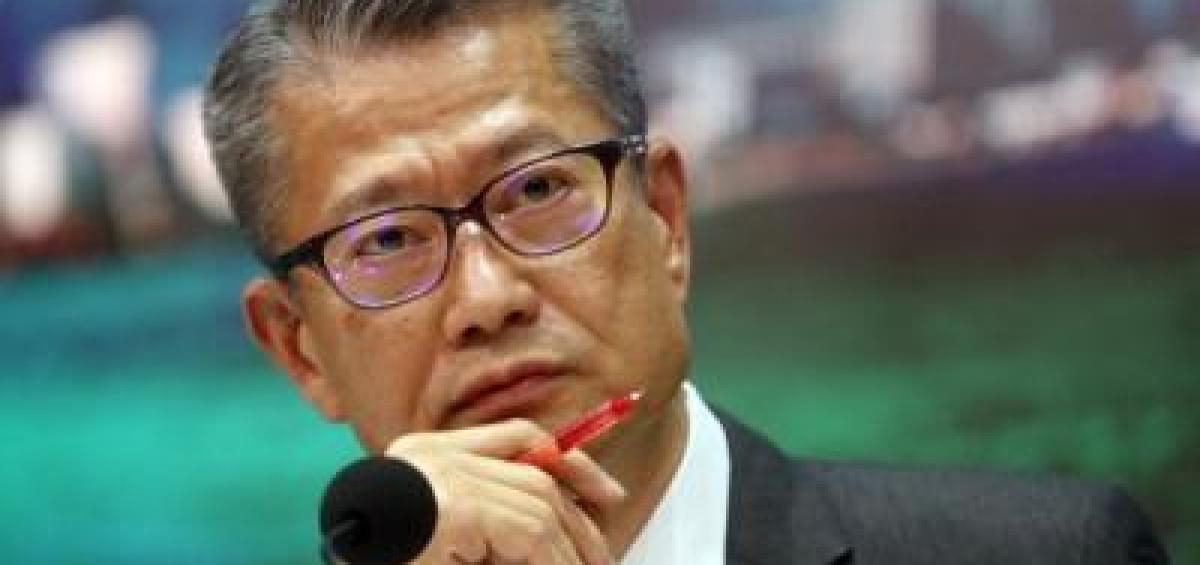 Ông Paul Chan, người đứng đầu cơ quan phụ trách tài chính của Hong Kong - Ảnh: SCMP
