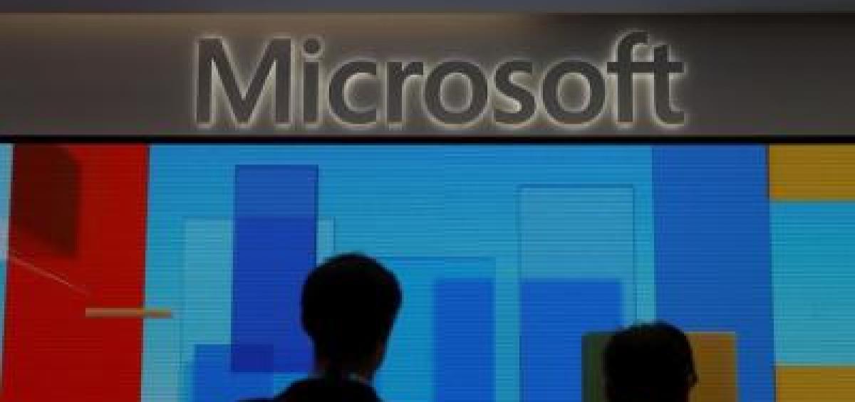 """Microsoft là một trong số các hãng công nghệ có những sản phẩm công nghệ lọt vào danh sách bị chính quyền Bắc Kinh """"thanh lọc"""" thời gian tới - Ảnh: SMCP"""
