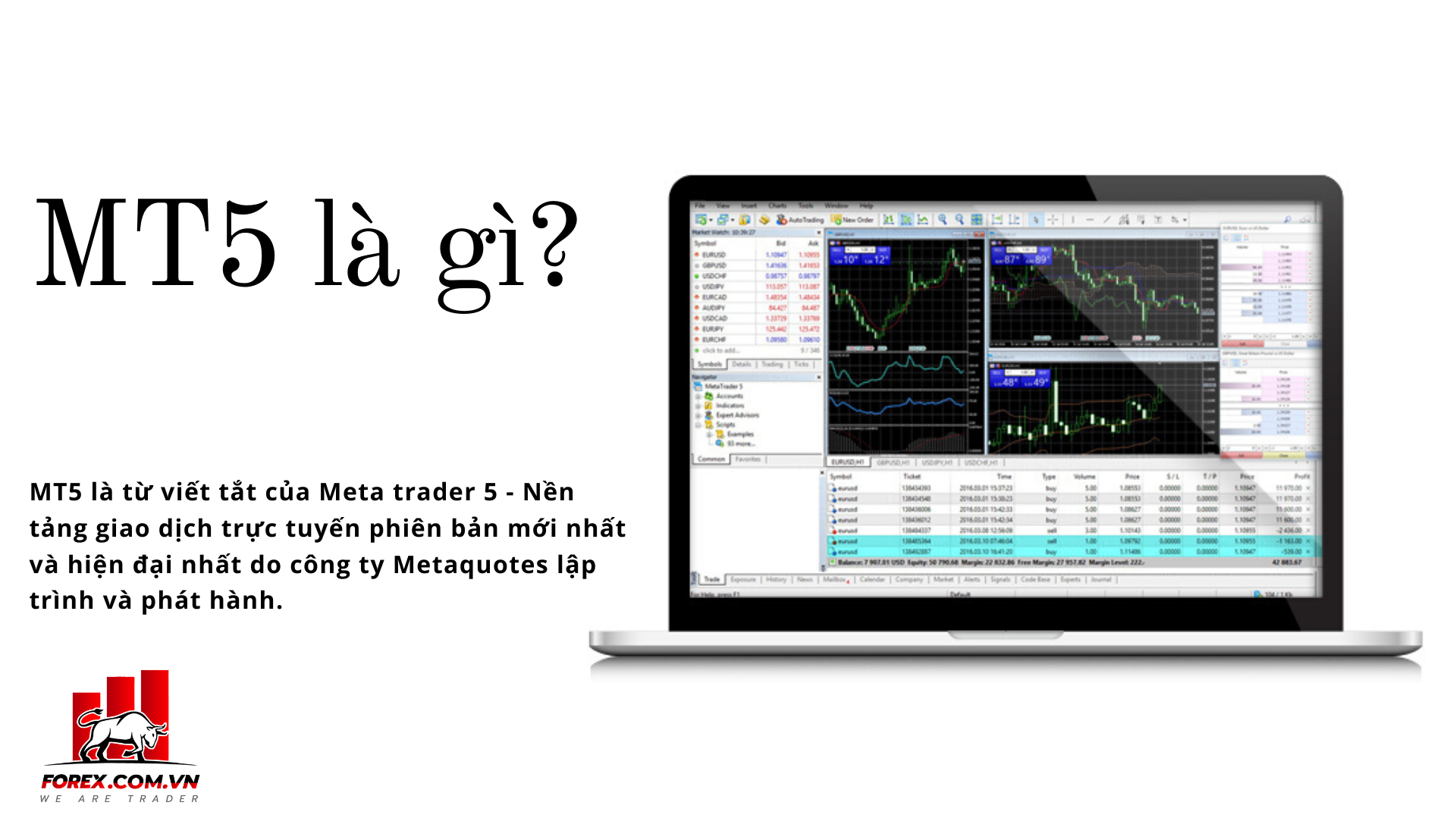 meta trader 5 là gì