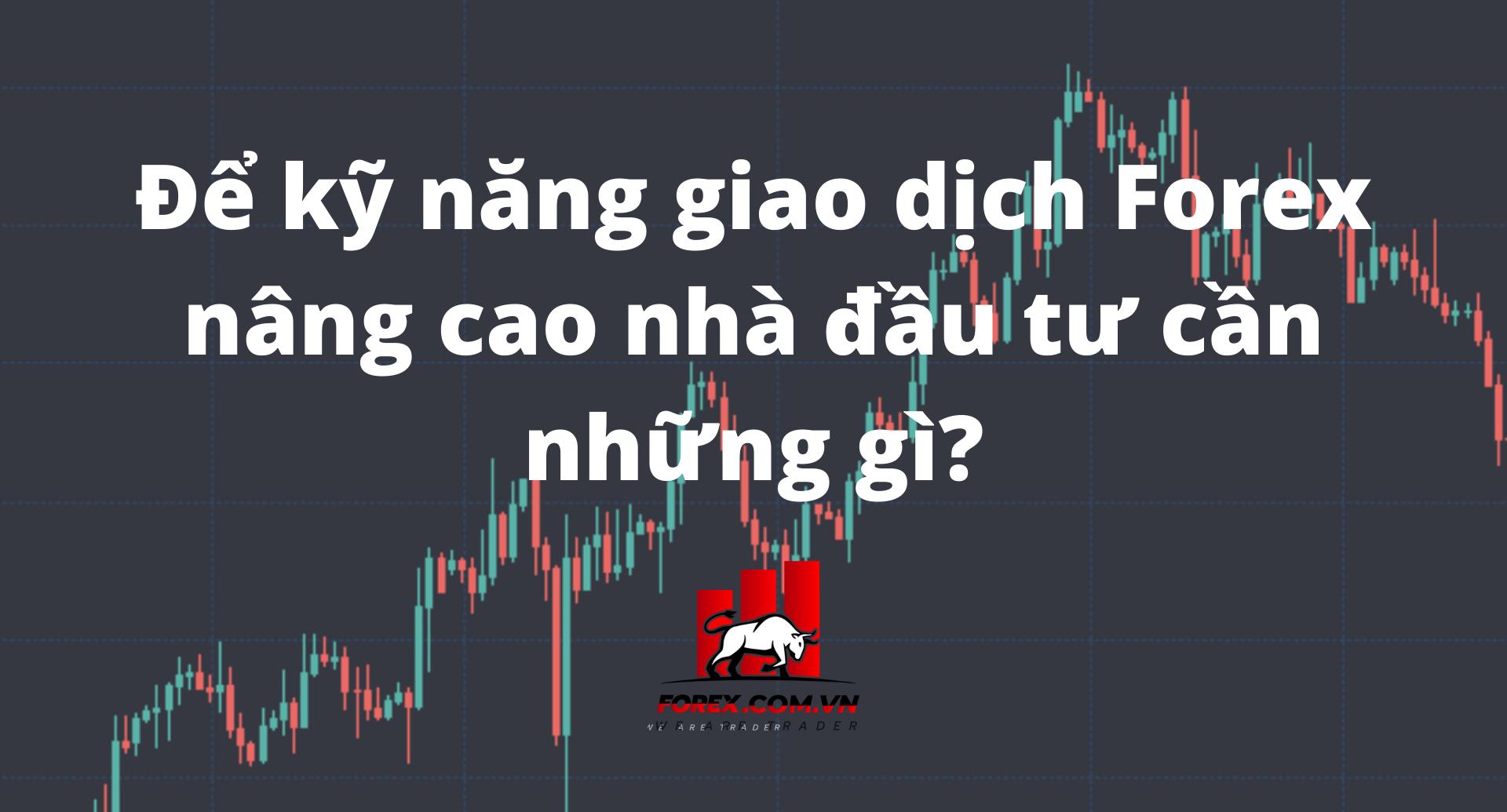 Để kỹ năng giao dịch Forex nâng cao nhà đầu tư cần những gì_