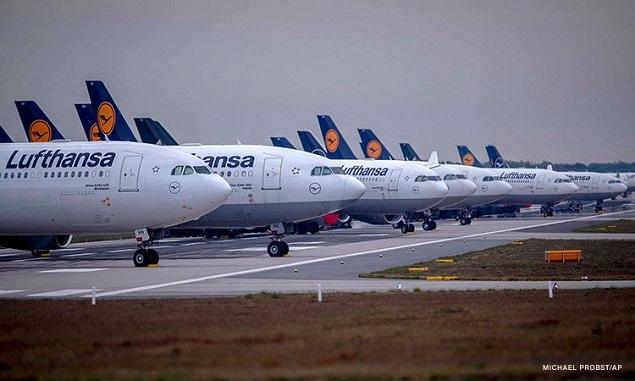 """Ngồi chờ cứu trợ, hãng hàng không hàng đầu châu Âu """"đốt"""" hơn 1 triệu USD mỗi giờ"""