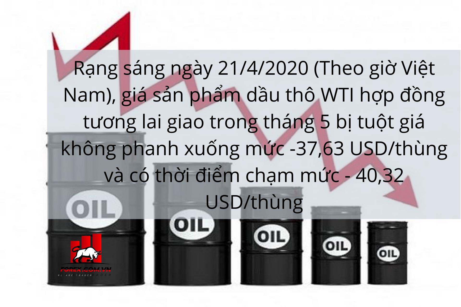 thị trường dầu thô mất thanh khoản