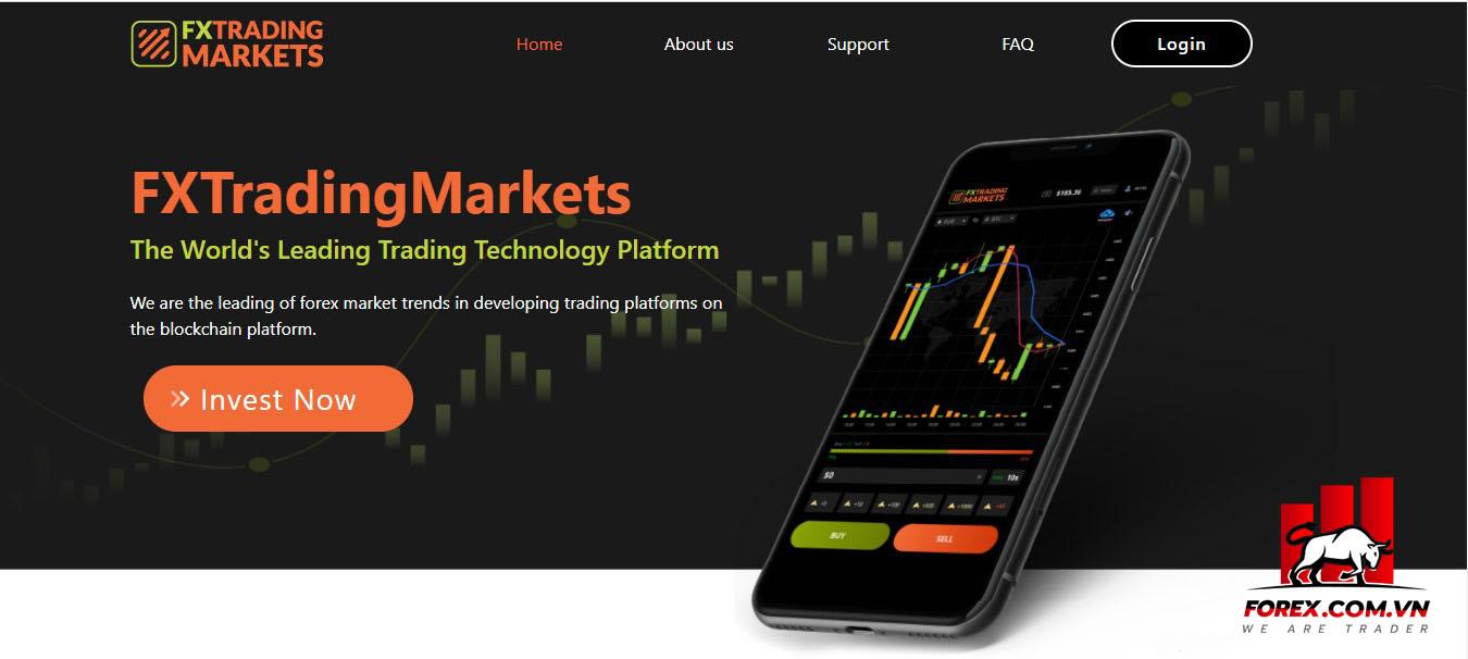 Cách thức sàn FX Trading Markets lừa đảo