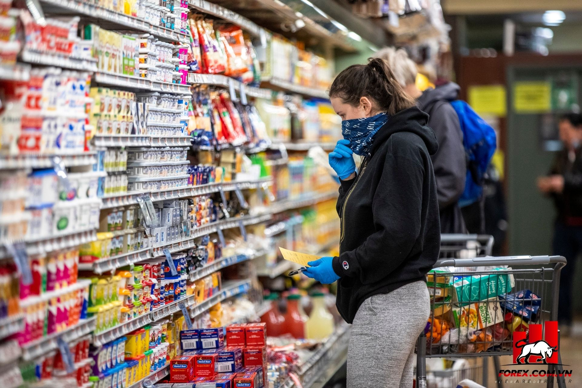 chỉ số tiêu dùng erozone ngừng g tăng trưởng