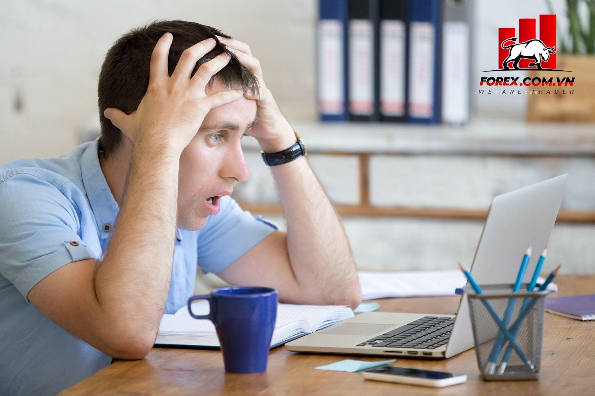 Những sai lầm hay mắc phải khi vào lệnh giao dịch Forex