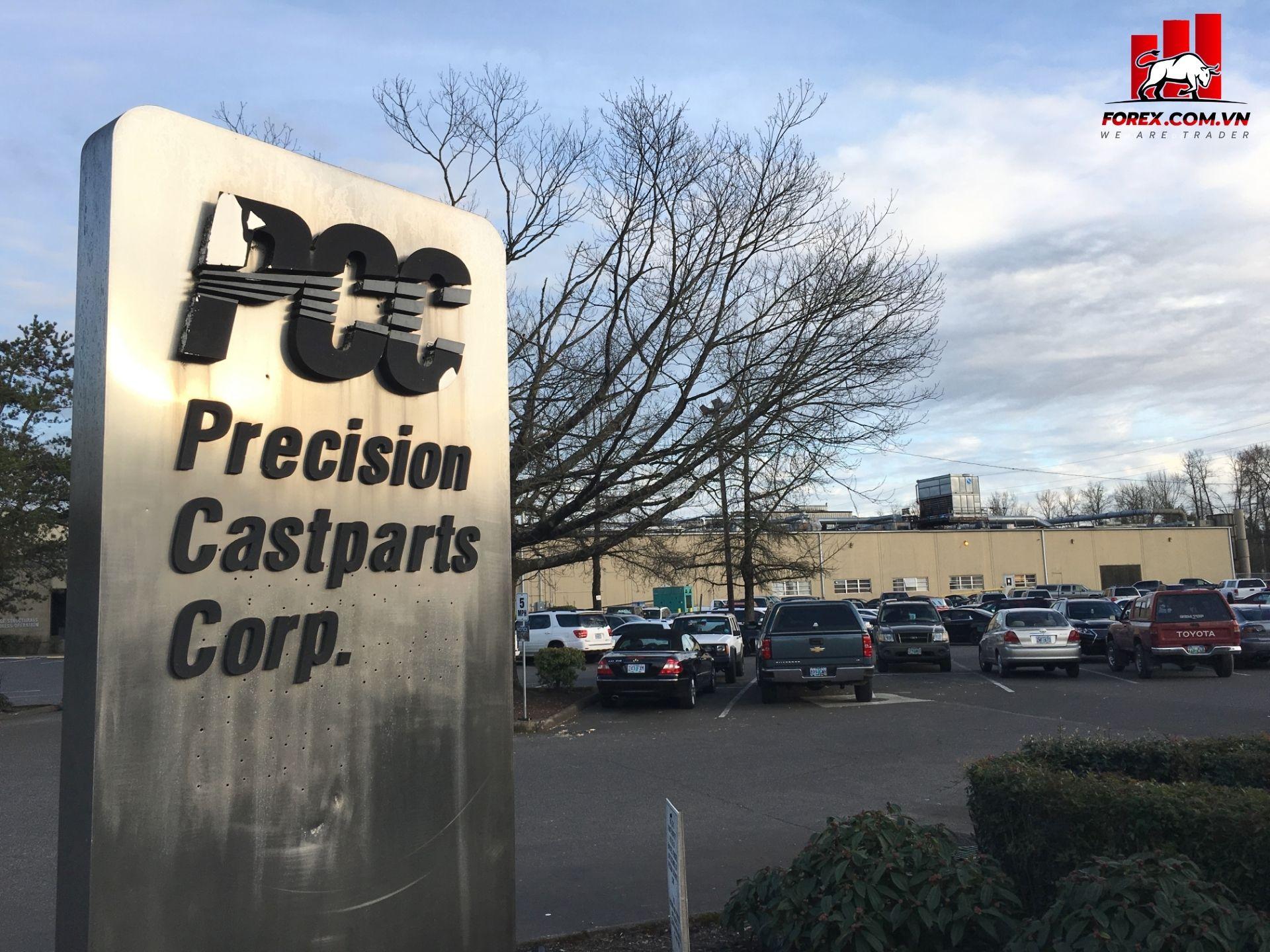 giảm thêm 9,8 tỷ USD giá trị sổ sách của hãng phụ tùng máy bayPrecision Castparts Corp
