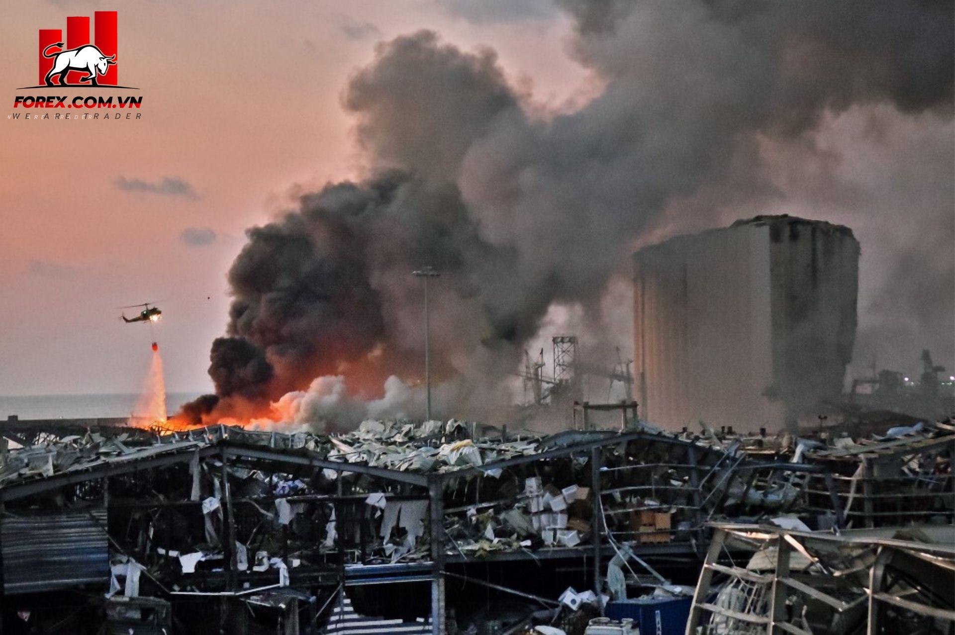vụ nổ tại cảng beirut, lebanon