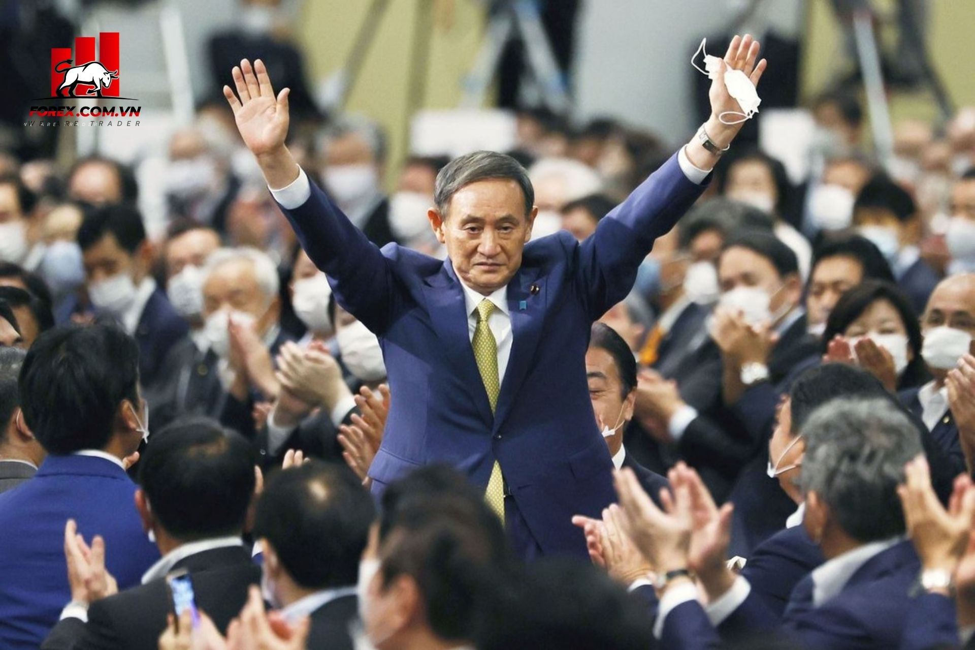 Yoshihide Suga nguoi ke nhiem cua Shinzo Abe