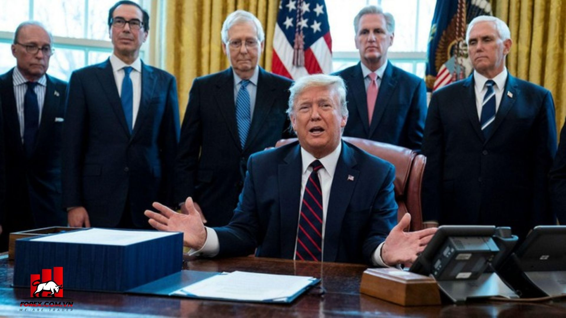 đề xuất 1,8 nghìn tỷ USD mới nhất của chính quyền Trump bị bác bỏ