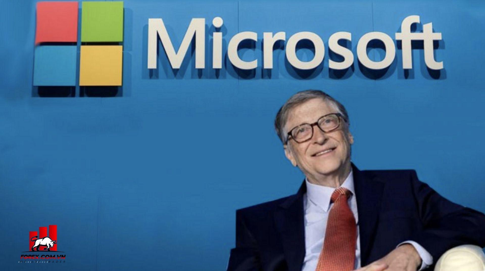 Bill Gates người đồng sáng lập Microsoft