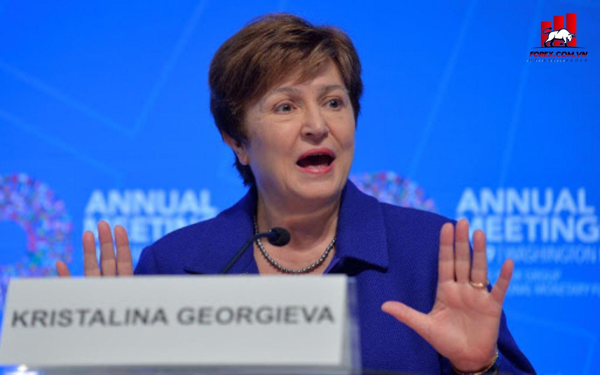 Giám đốc điều hành Quỹ Tiền tệ Quốc tế (IMF) bà Kristalina Georgieva