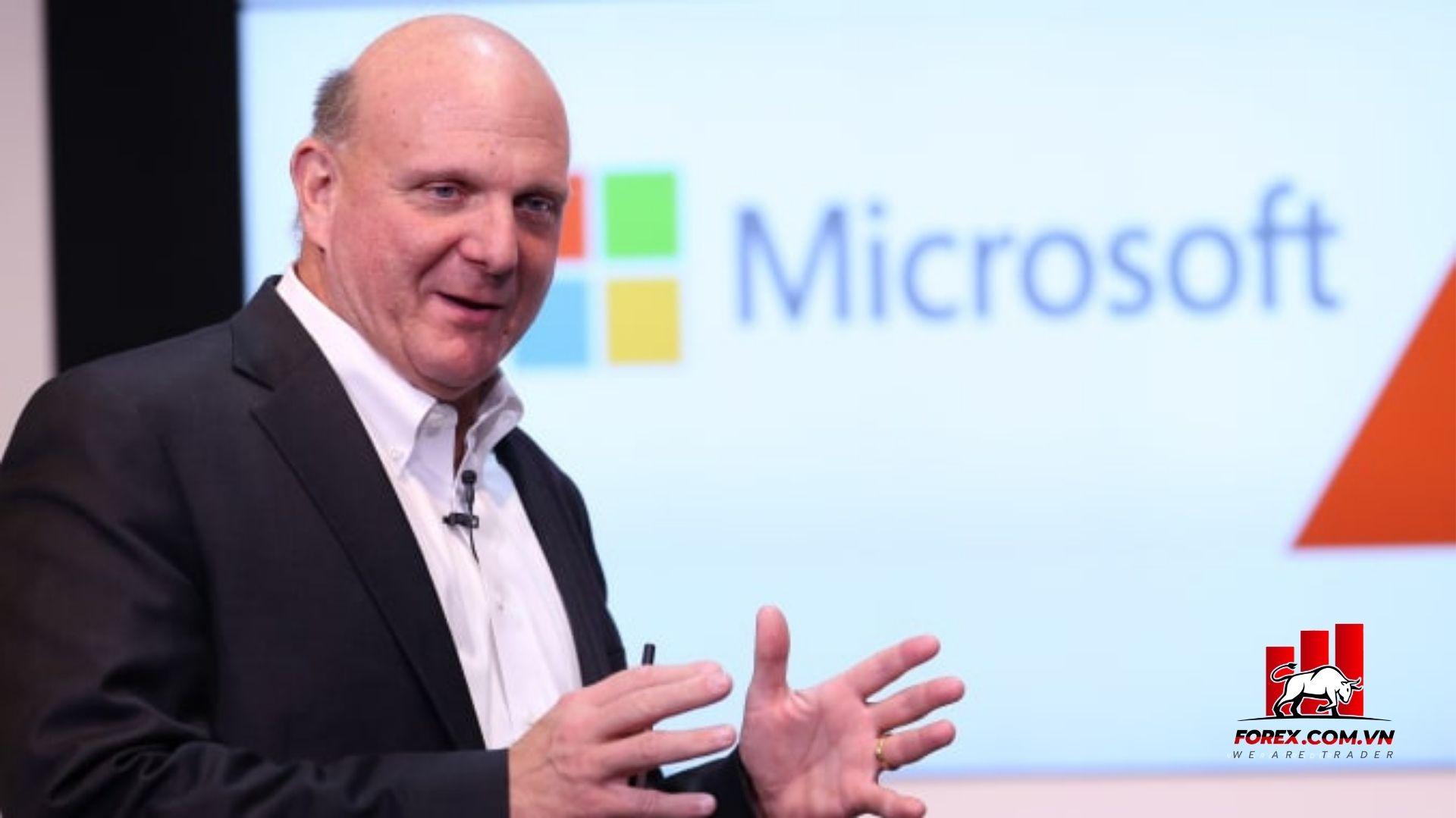 cựu giám đốc điều hành của Microsoft - Steve Ballmer