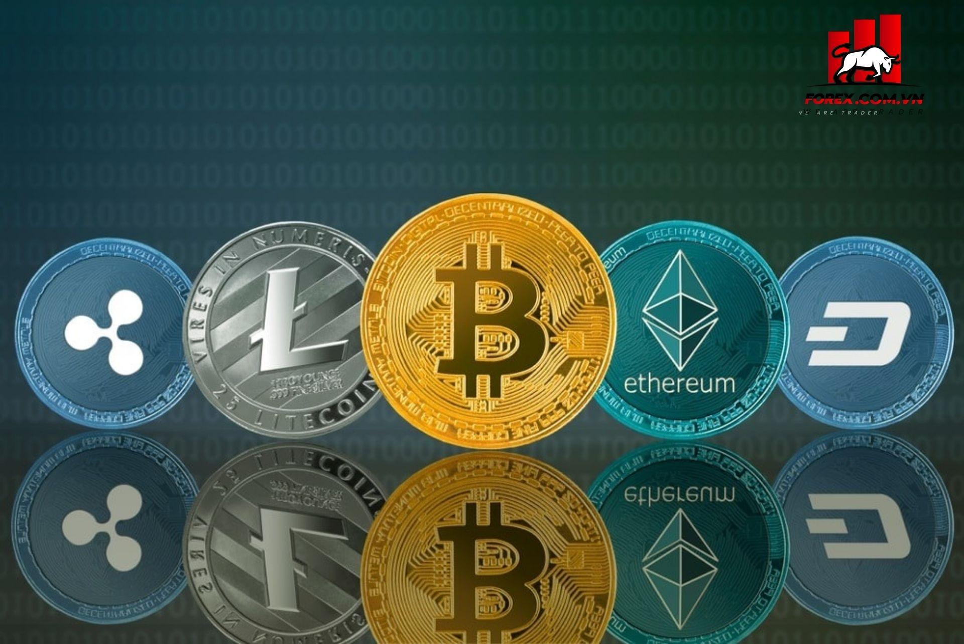 Các loại tiền điện tử lớn khác bao gồm ethereum và XRP tăng giá