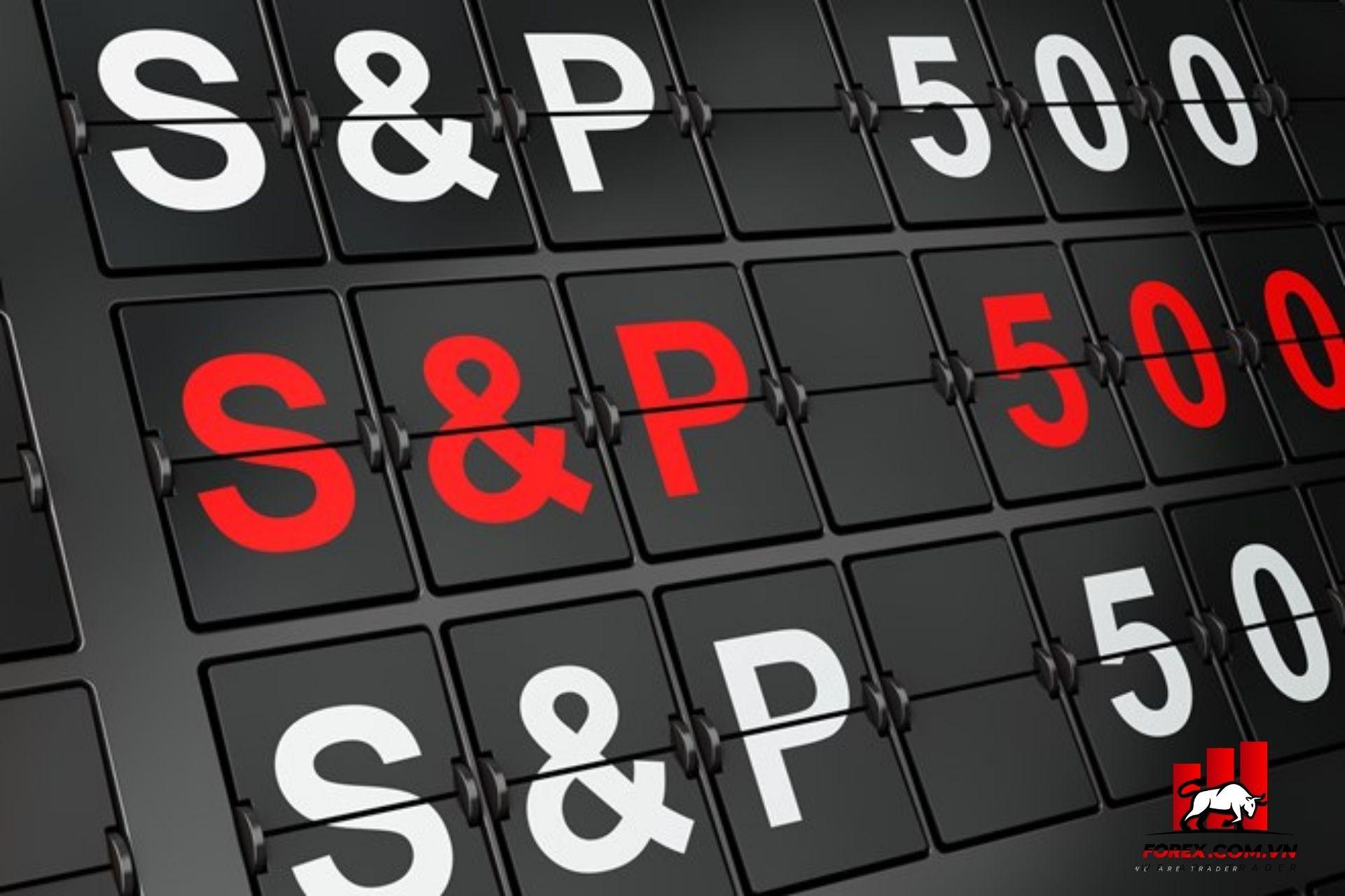 chỉ số s&p 500 thị trường chứng khoán Mỹ sụt giảm