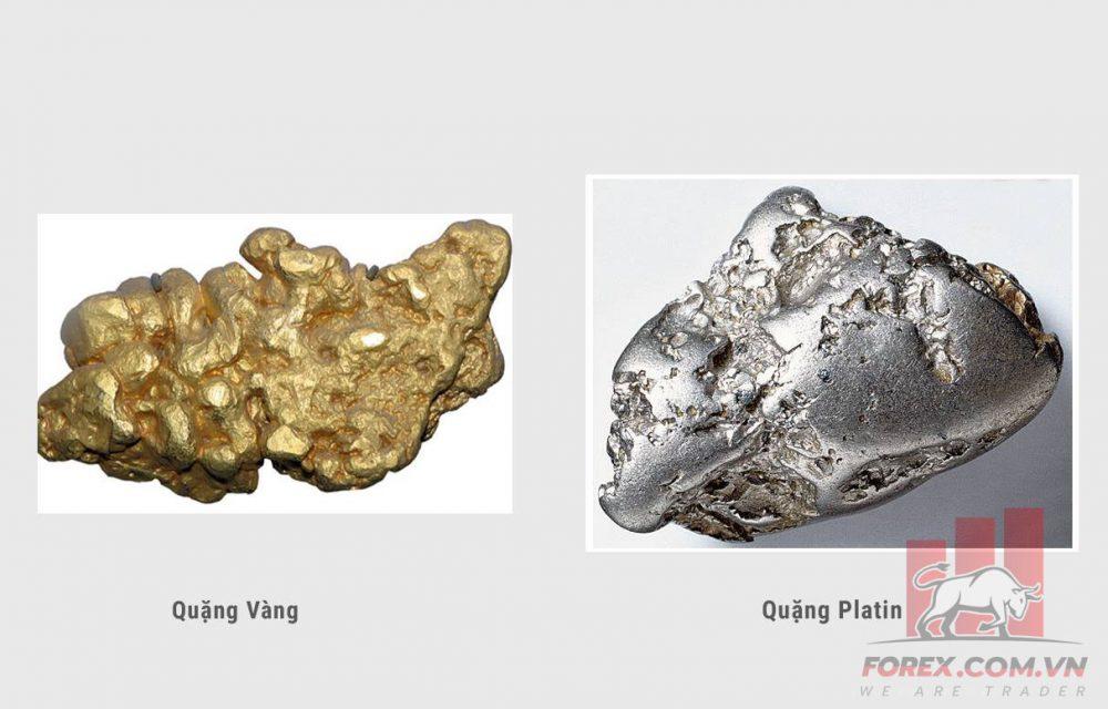 Phân biệt bạch kim và vàng trắng