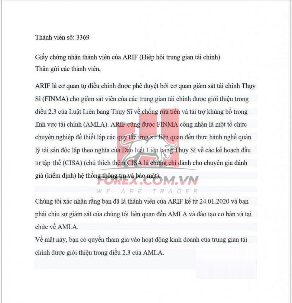 Thông tin về sàn IAL Group