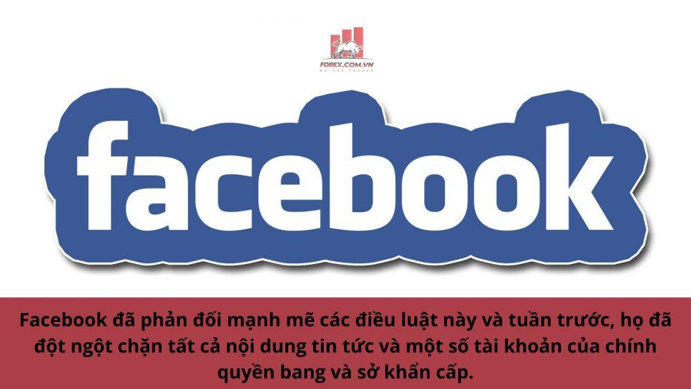 Facebook đã trả đũa chính quyền Úc