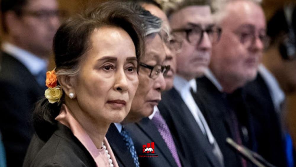 bà Aung San Suu Kyi bị Quân đội Myanmar bắt giữ