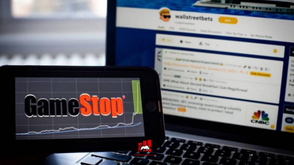 cổ phiếu GameStop giảm sâu