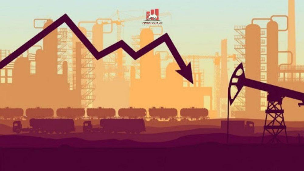 giá dầu brent giảm dao động quanh mức 70 USD