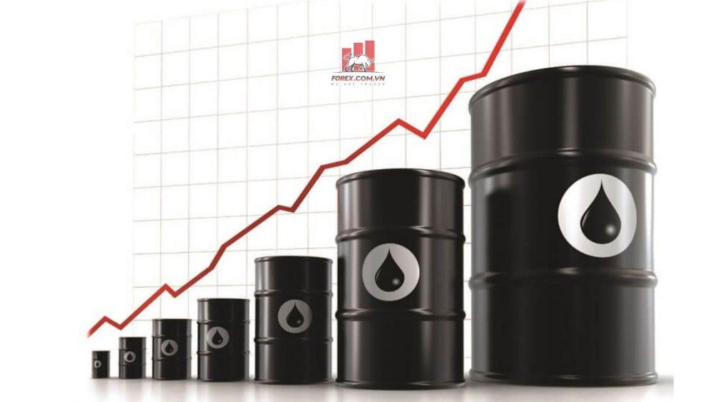giá dầu thô tăng do triển vọng phục hồi của nền kinh tế toàn cầu