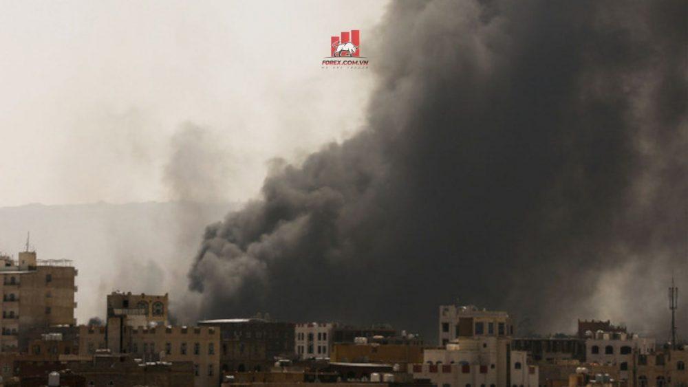 lực lượng Houthi tấn côngvào trung tâm của ngành dầu mỏ Ả Rập Xê Út