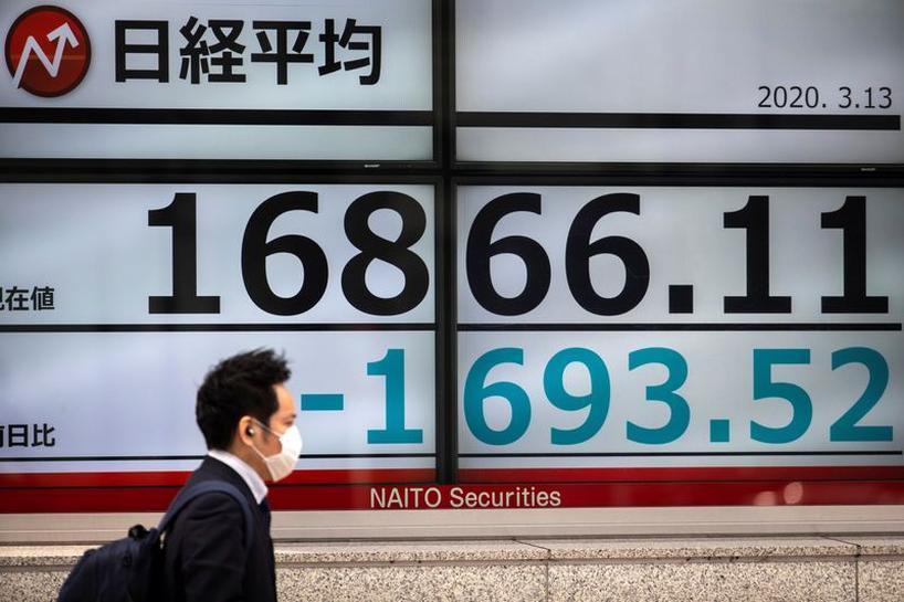 Chứng khoán châu Á phục hồi nhờ hợp đồng tương lai sụt giảm