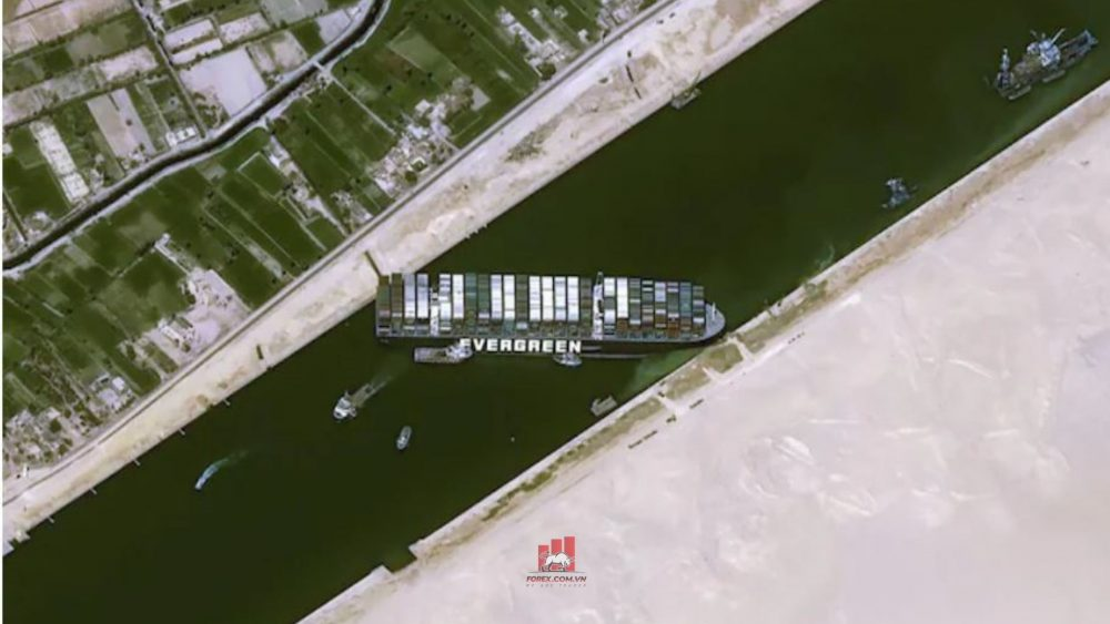 tắc nghẽn kênh đào suez khiến giá dầu quay đầu phục hồi