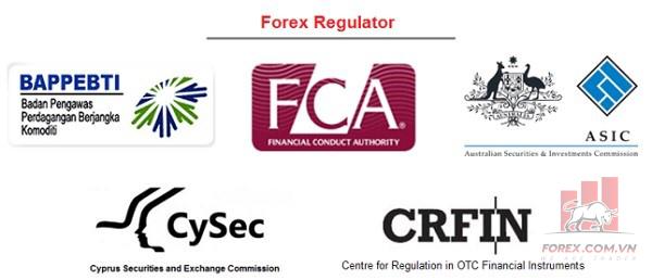 Các giấy phép uy tín của Forex Broker