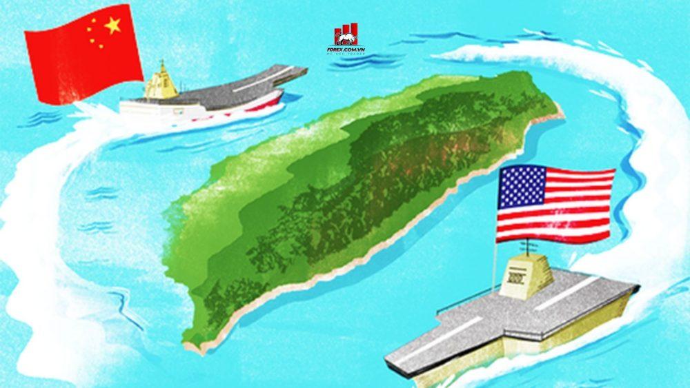 tàu sân bay Trung Quốc tập trận gần đảo Đài Loan