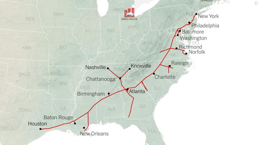 hệ thống đường ống dẫn Colonial Pipeline
