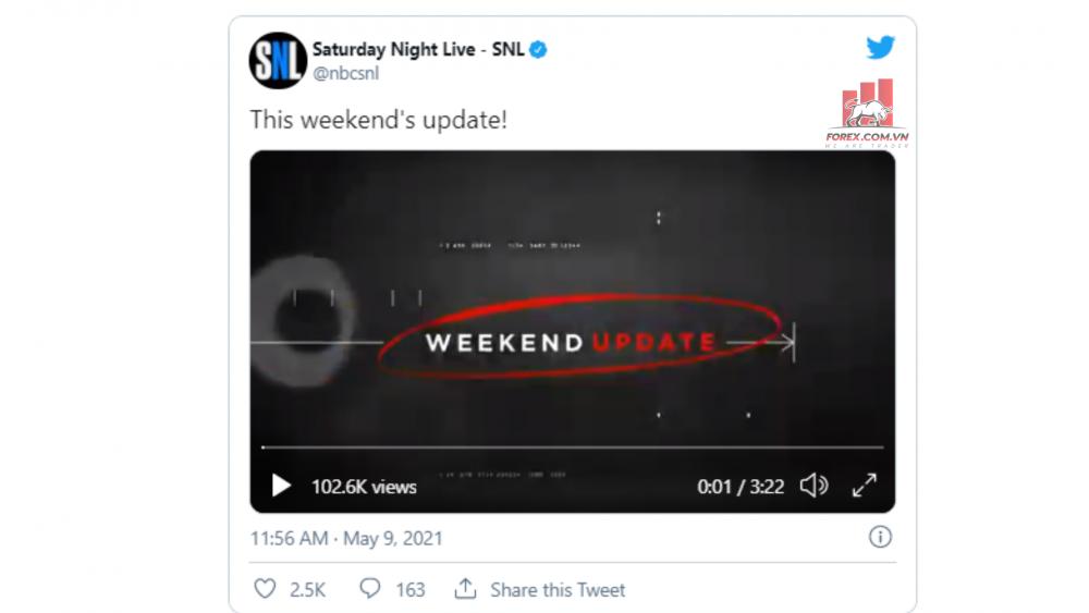 su kien tai chinh hoa ky Elon Musk phat bieu tren SNL