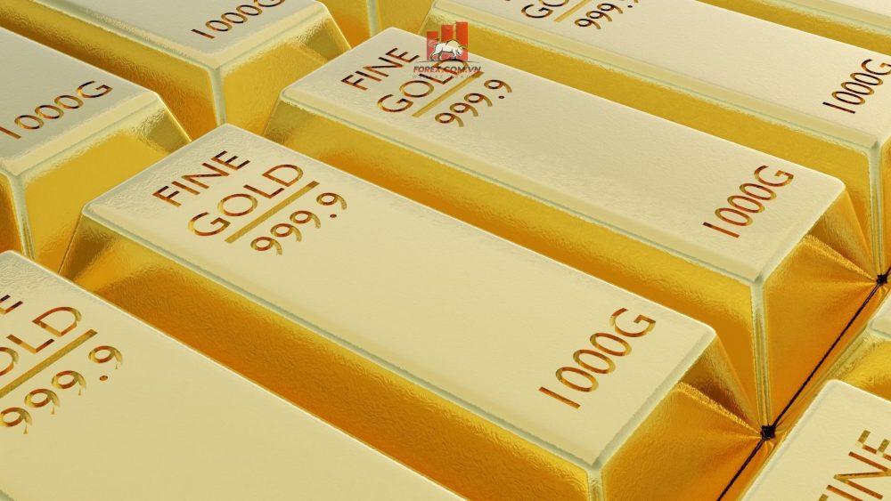 vàng thế giới tăng nhờ giá đô la thúc đẩy