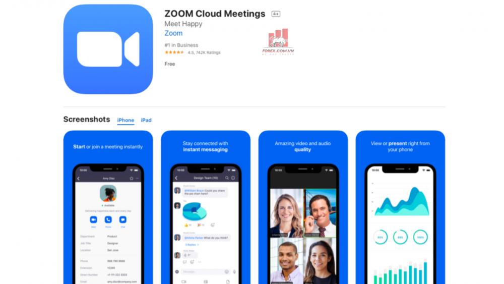ứng dụng Zoom