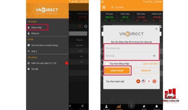 Phần mềm VNDirect
