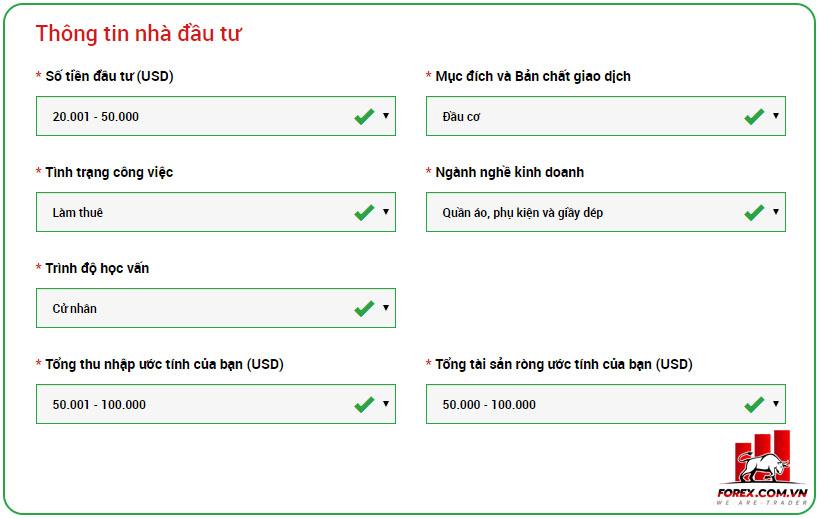 Hướng dẫn mở tài khoản XM và xác minh danh tính