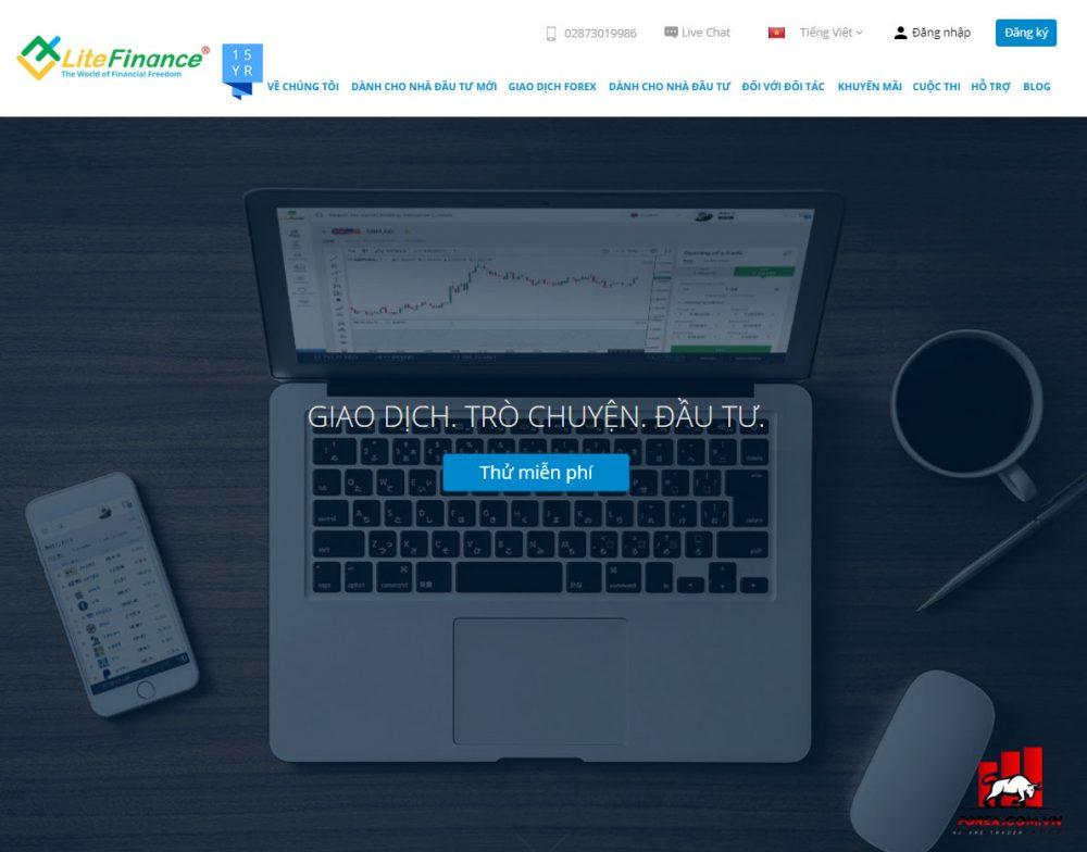 Các bước mở tài khoản tại sàn giao dịch LiteFinance