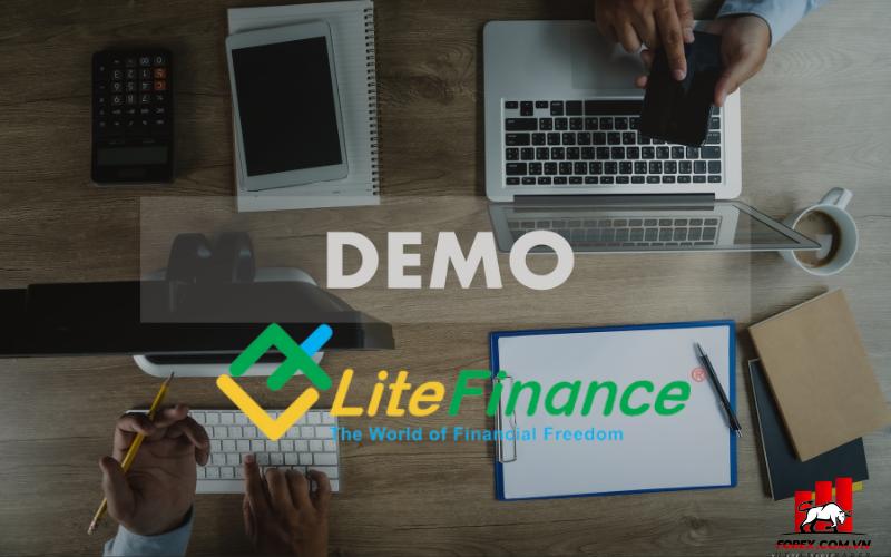 Thử nghiệm giao dịch với tài khoản demo tại LiteFinance 1