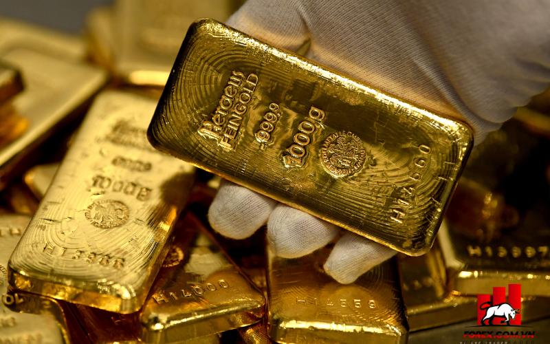 Vàng trượt khỏi mức cao nhất một tuần khi đồng USD chiếm ưu thế 1
