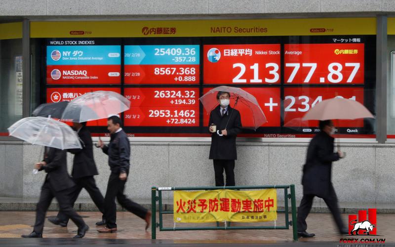 Chứng khoán châu Á căng thẳng vì tin tức giảm dần kích thích của Fed 1