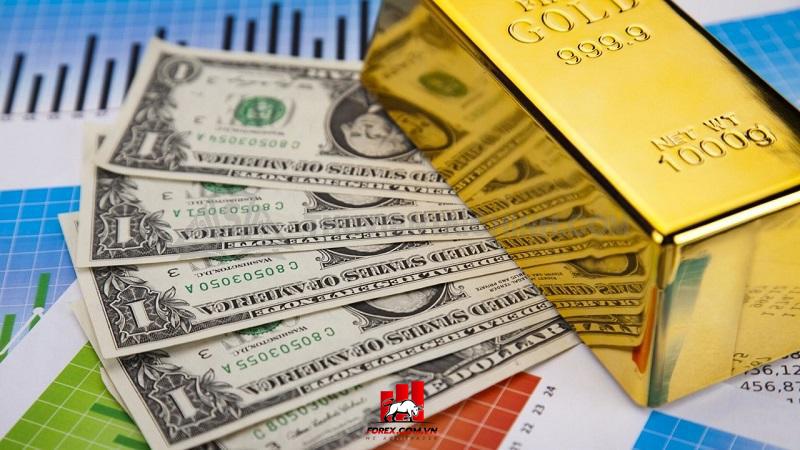 Mối quan hệ tương quan giữa vàng và USD